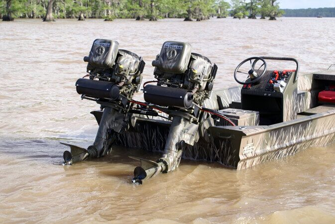 Болотоходы для лодок